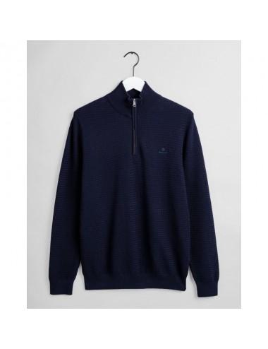 GANT Cotton Piqué Half-Zip Sweater