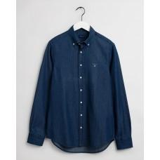 GANT Regular Fit Indigo Shirt