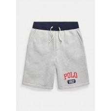 BOYS 6-14 YEARS Logo Fleece Pull-On Short