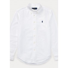 BOYS 6-14 YEARS Slim Fit Cotton Oxford Shirt