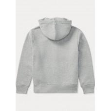 BOYS 6-14 YEARS Cotton-Blend-Fleece Hoodie