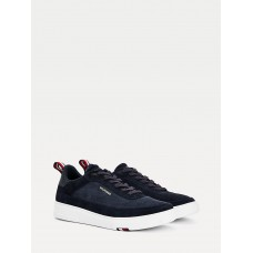 TH MODERN SUEDE CUPSOLE TRAINERS
