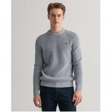 GANT Multicolor Twisted Crew Neck Sweater