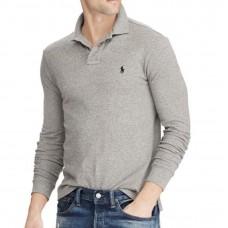 Ralph Lauren L/S Polo Grey
