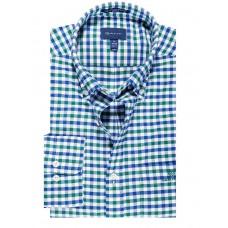 Regular Fit 2-Color Gingham Broadcloth Shirt