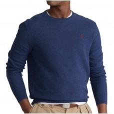 Ralph Lauren Ls Navy Heather Sweater