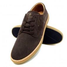 Gant Brown Suede Prepville Casual Shoe