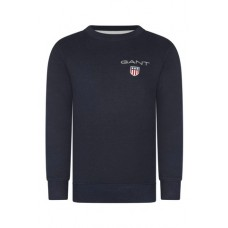 GANT Teens Medium Shield Crew Neck Sweatshirt