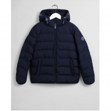 GANT Teen Boys Logo Stripe Puffer Jacket
