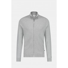 Full Zip Structured Cardigan