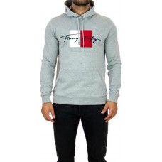 TH SIGNATURE LOGO EMBROIDERY HOODY