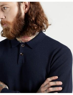 BATHA LS knitted polo
