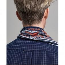 GANT Regular Fit Indigo Windowpane Check Shirt