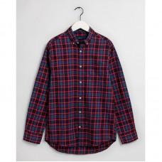 GANT Regular Fit Tech Prep™ Micro Tartan Oxford Shirt