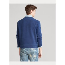 Garment-Dyed Fleece Sweatshirt