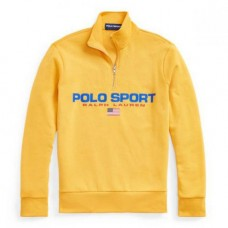 Ralph Lauren Polo Sport Quarter Zip Yellow